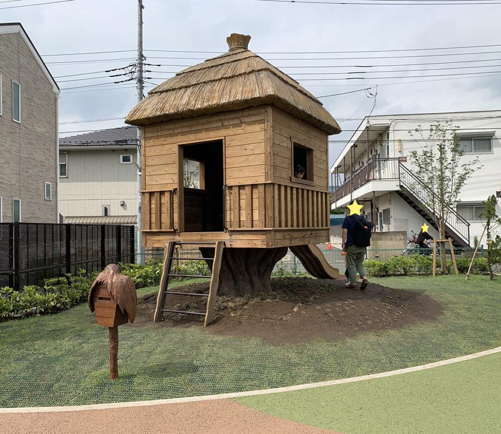 鬼太郎の家(鬼太郎ひろば)